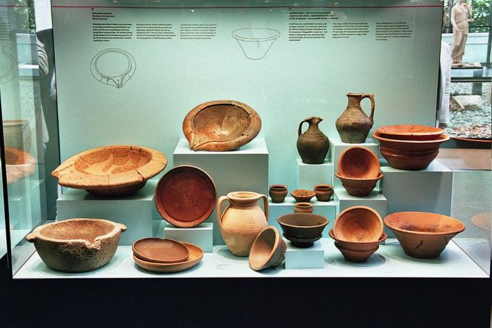 AGUNTUM Museum Geschirr