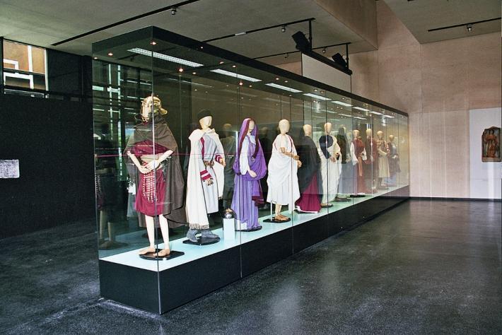 AGUNTUM Museum römische Gewänder