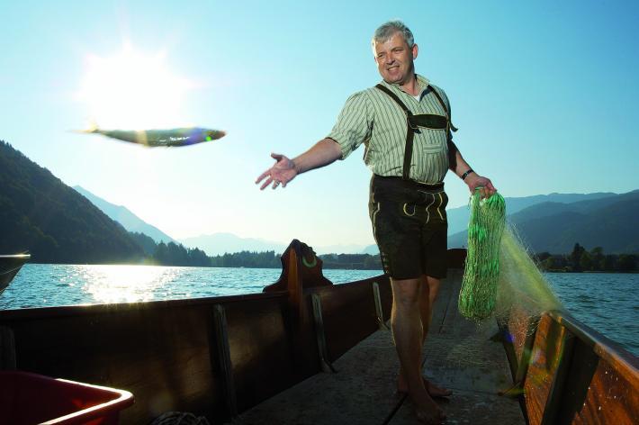 Fischerei Wolfgangsee