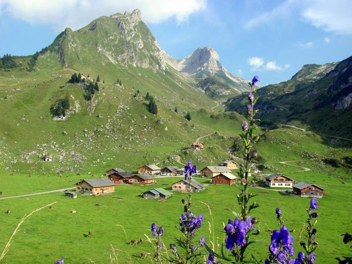 Alpe Laguz/ Großes Walsertal
