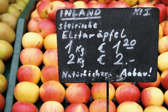 Steirische Äpfel Elstar