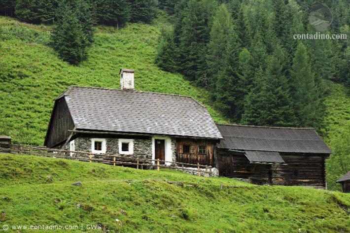 Bauernhaus in der grünen Steiermark