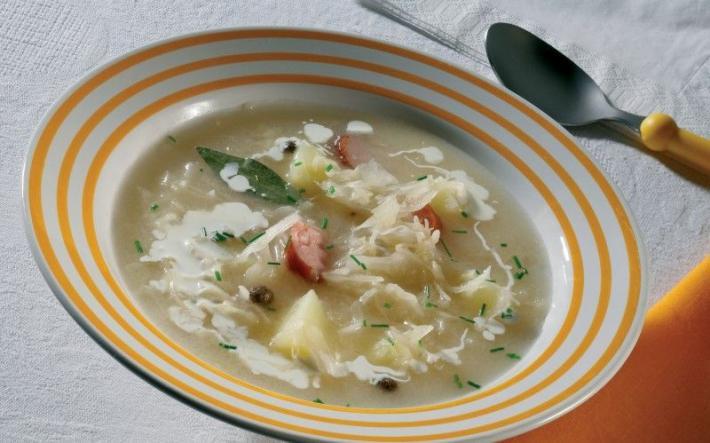Südmähren_Sauerkrautsuppe