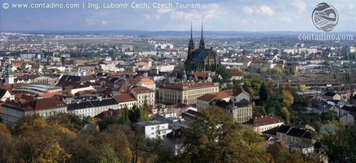 Südmähren_Panorama Brno