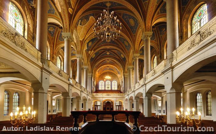 Pilsen, große Synagoge