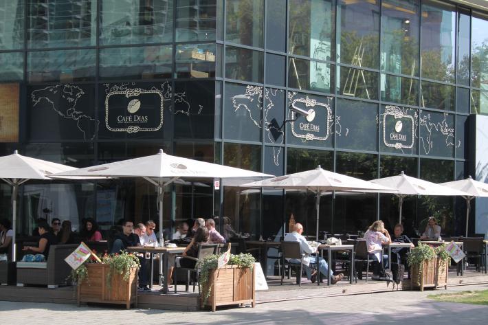 Modernes Caffeehaus