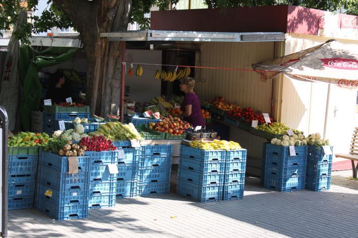 Marktstände gibt es überall