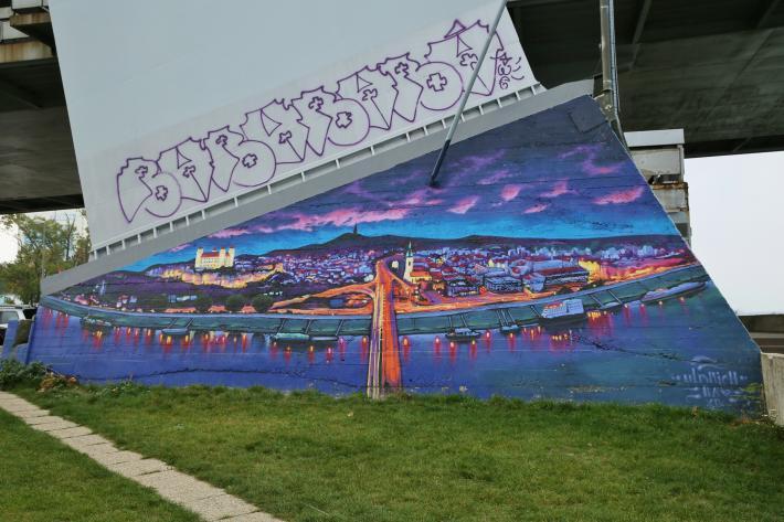 Grafitti Bratislava