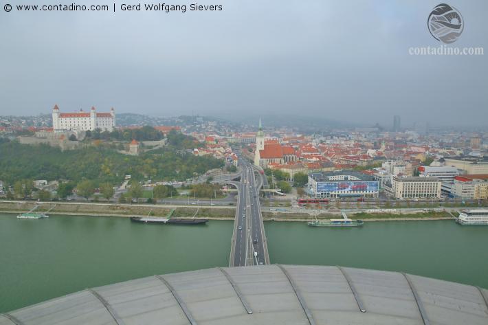 Stadtansicht Bratislava
