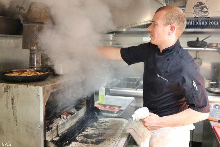 Stephane Cunin am Grill
