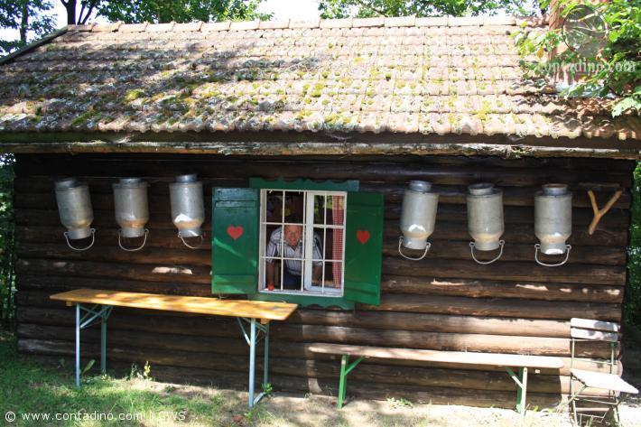 Jagdhütte vom Ferienhof Jager am Bach
