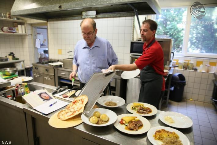 Küchenimpression in der Mauth