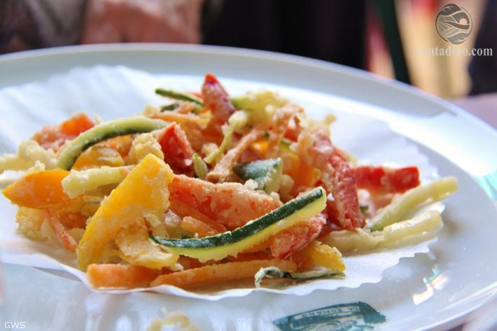 Frittiertes Gemüse (Romano)