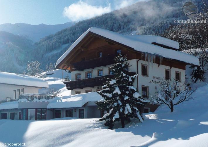 Pension Schoberblick Winterimpression