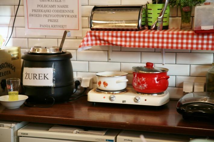 Pijalnia wodki i piwa Bar Küche