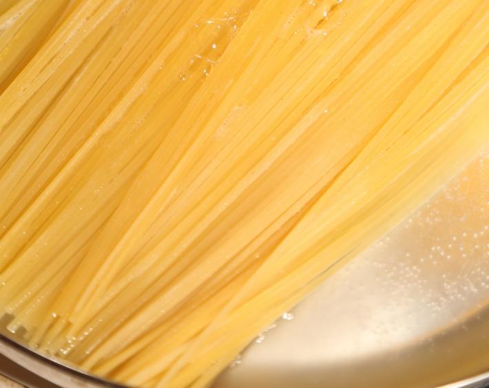 Spaghetti nach Risotto-Art 1