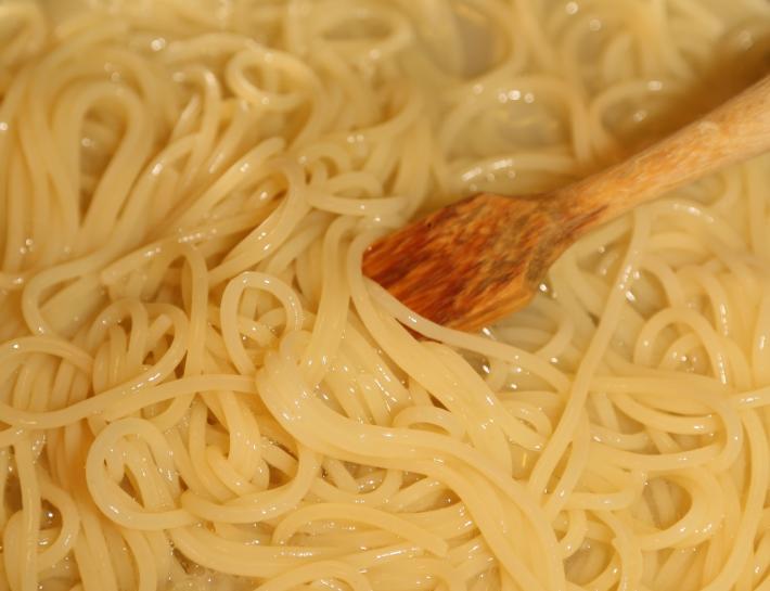 Spaghetti nach Risotto-Art 3