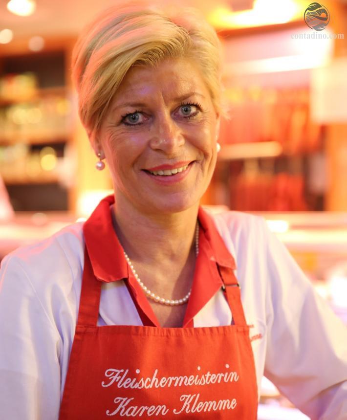 Fleischmeisterin Karen Klemme