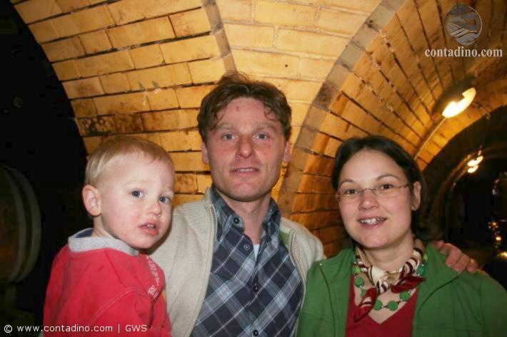 Martin Spielauer mit Familie
