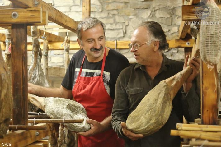 Edi Dunis mit Kunden