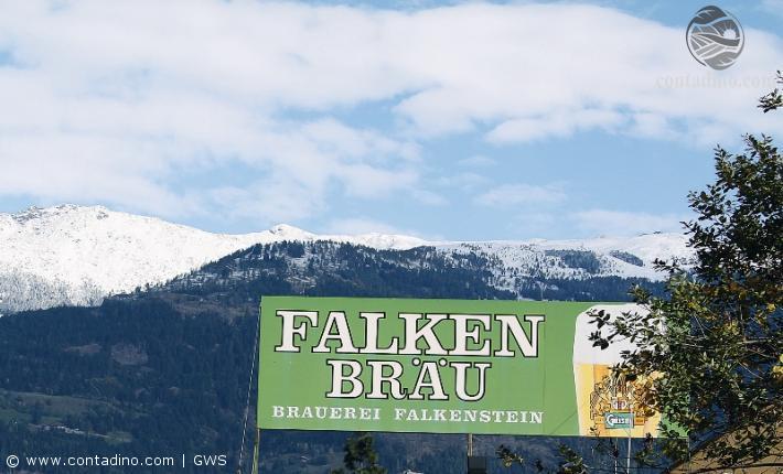 Brauerei Falkenstein Firmenschild