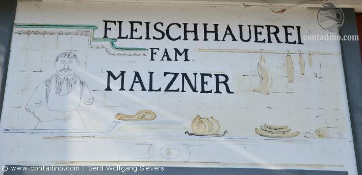 Firmentafel Malzner
