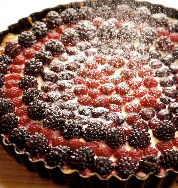 Beeren Kirsch Torte
