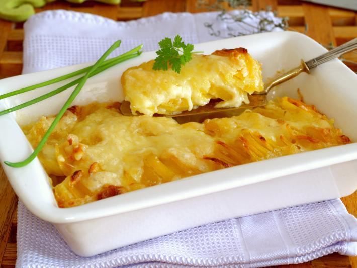 Bregenzerwälder Kartoffelgratin