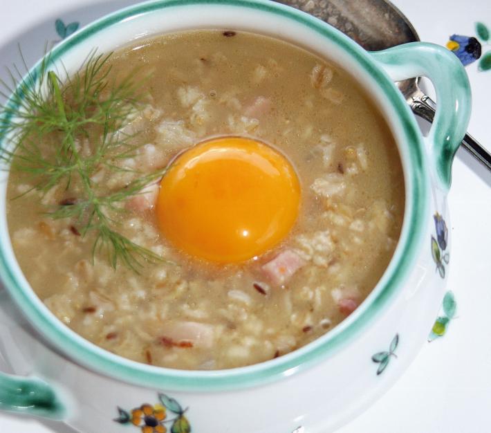 Wiener Haferflockensuppe