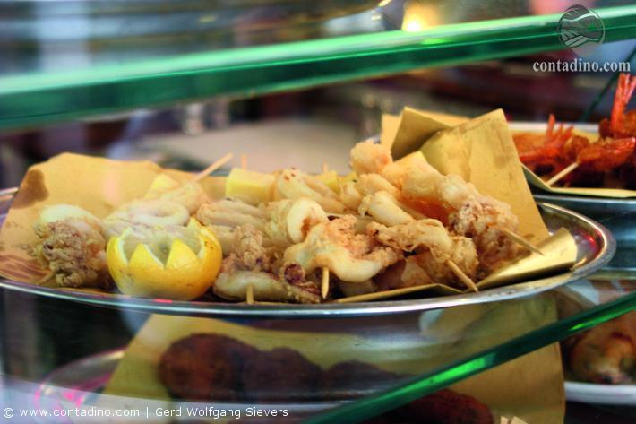 Calamaretti fritti