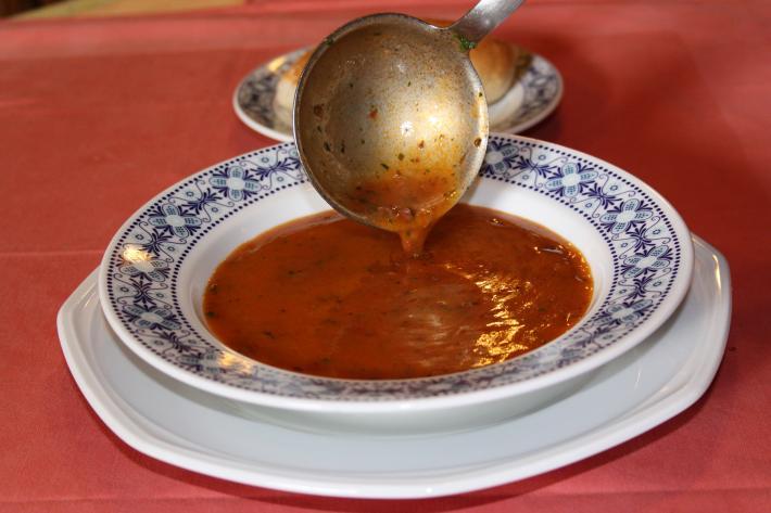 Beuschelsuppe