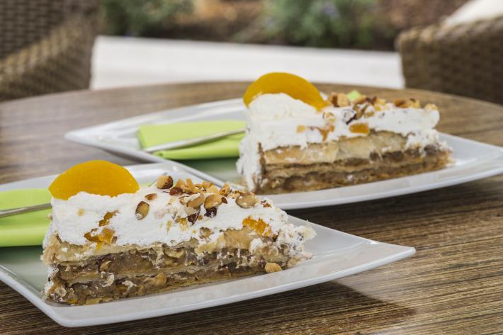 Crikvenica ist bekannt für seine köstlichen Kuchen wie z.B. die Frankopan-Torte