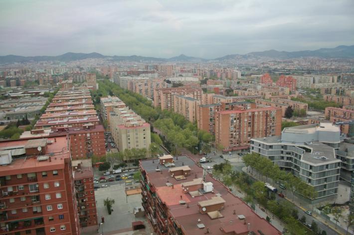 Barcelona Fernblick
