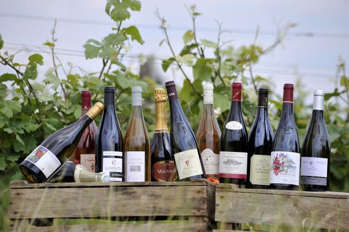 Bouteilles de vins de Touraine CRT Centre-Val de Loire - T. Martrou.jpg