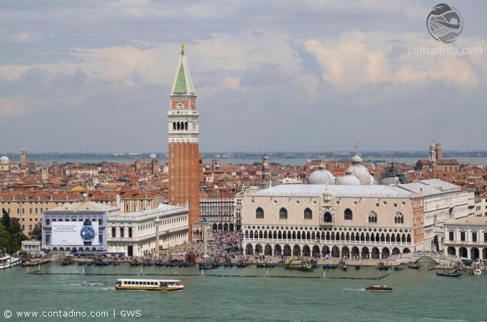 Venedig Panorama Dogenpalast