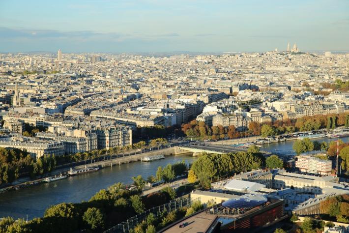 Paris Blick vom Eifelturm