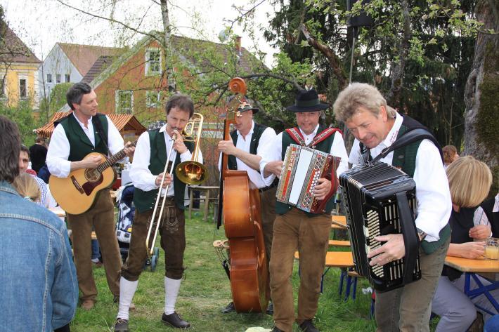 Musikanten im Apfelland