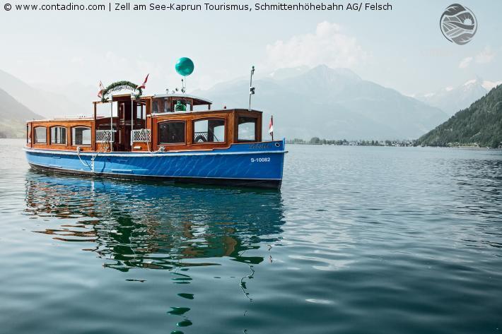Nostalgieschiff Libelle, Zeller See
