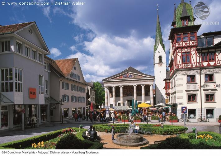 Dornbirn_Dornbirn Marktplatz Foto Dietmar Walser, Archiv Vorarlberg Tourismus.jpg