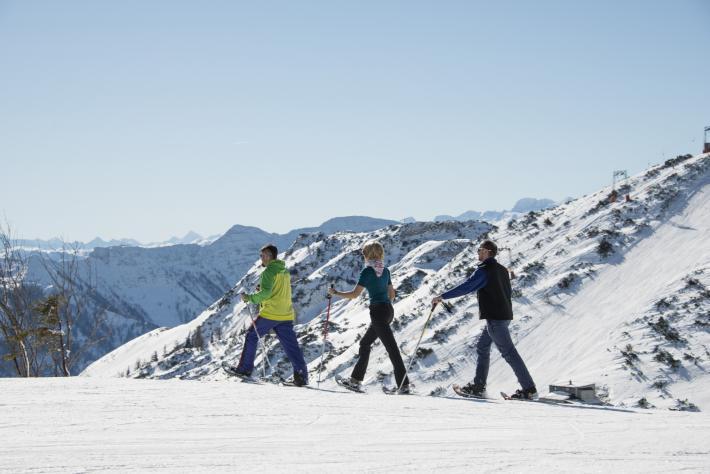 Salzkammergut Schneeschuhwandern