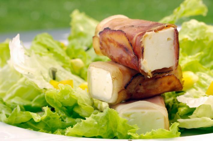 Salatvariation Krauthäuptel