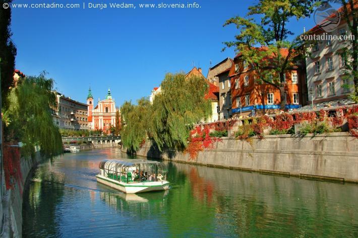 Slowenien_Ljubljana, River Ljubljanica.JPG