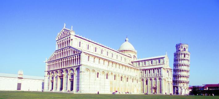 Schiefer Turm und Dom von Pisa
