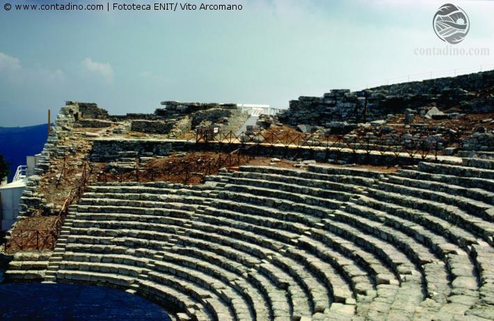 Segesta, Griechisches Theater