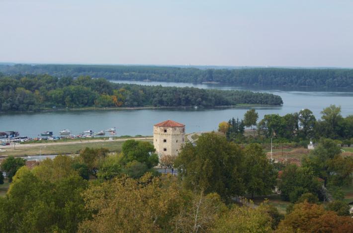 Donaublick Belgrad
