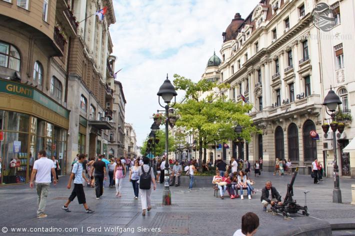 Belgrad Fußgängerzone