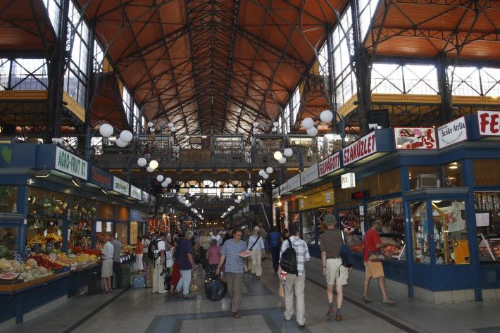 Ungarn Markthalle