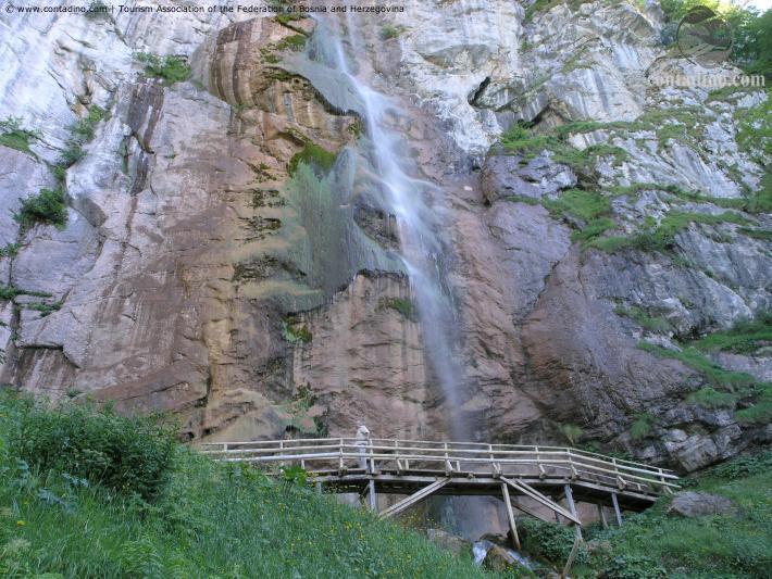 Skakavac Wasserfall