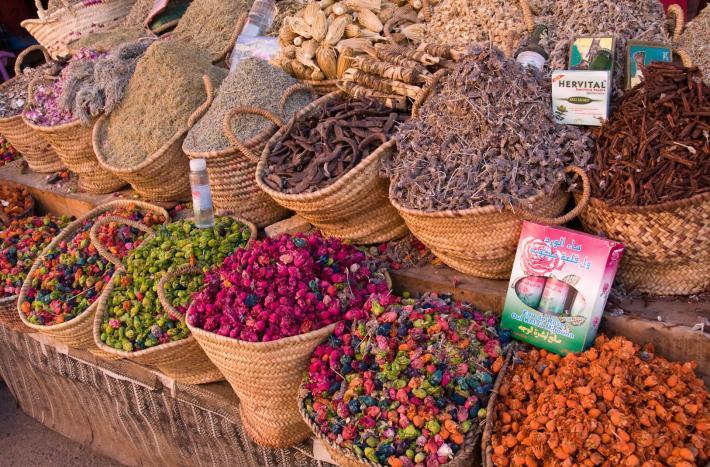 Buntes Angebot auf Marokkos Märkten