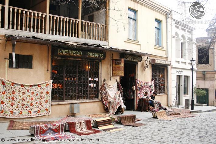Teppichbazar Tbilisi, Georgien
